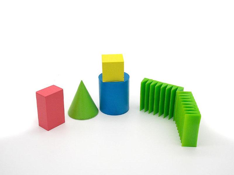 教学几何积木